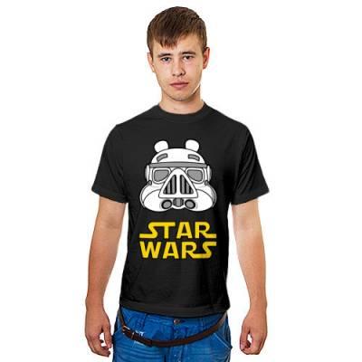 Мужская футболка с v образным вырезом